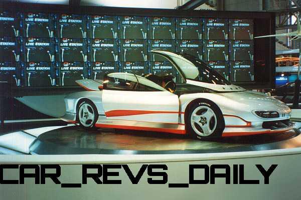 Concept Flashback - 1989 Mitsubishi HSR II 11