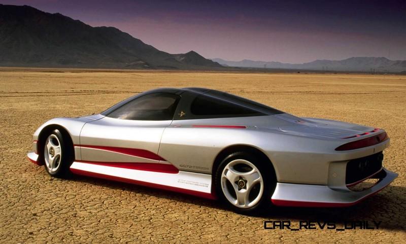 Concept Flashback - 1989 Mitsubishi HSR II 2