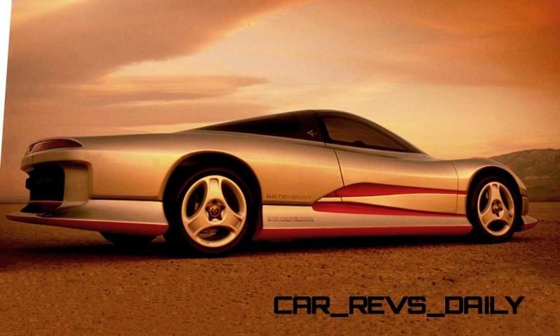 Concept Flashback - 1989 Mitsubishi HSR II 3