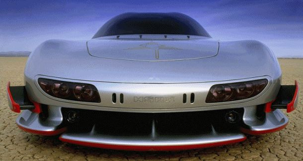 Concept Flashback - 1989 Mitsubishi HSR II Innovates With Six Active Aero Wings