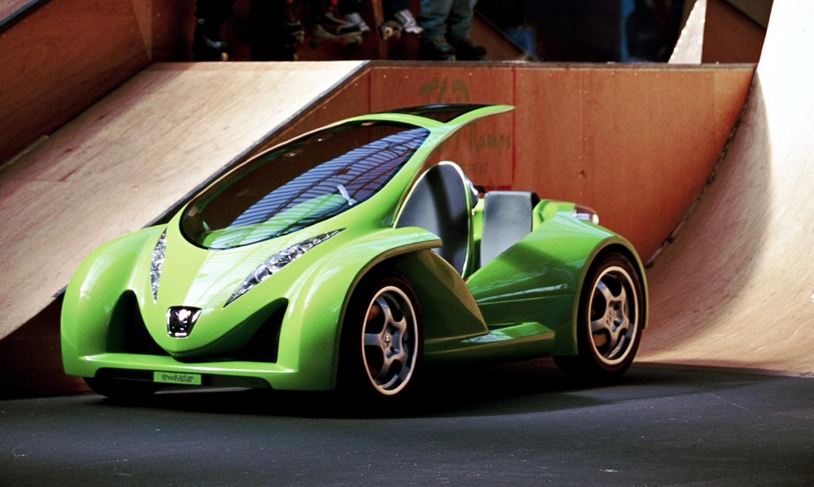 Concept Flashback 2000 Peugeot City Toys Kartup Vroomster Edoll And Bo...