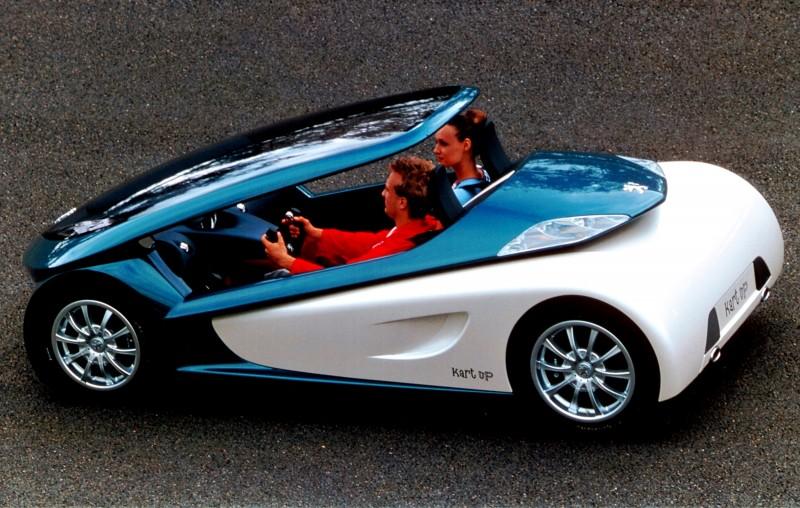 Concept Flashback - 2000 Peugeot City Toys - Kartup, Vroomster, eDoll and Bobslid 2