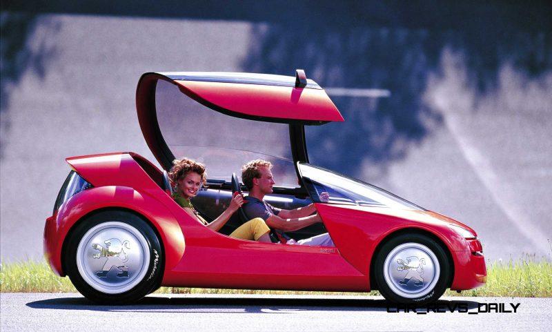 Concept Flashback - 2000 Peugeot City Toys - Kartup, Vroomster, eDoll and Bobslid 6