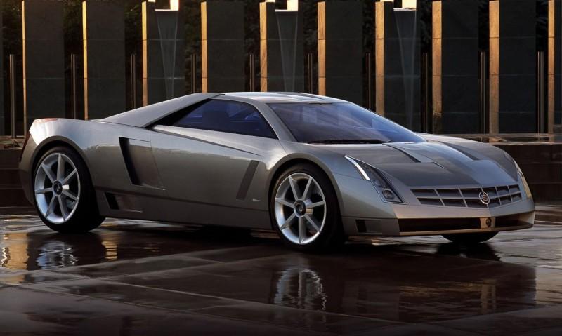 Concept Flashback - 2002 Cadillac Cien 10