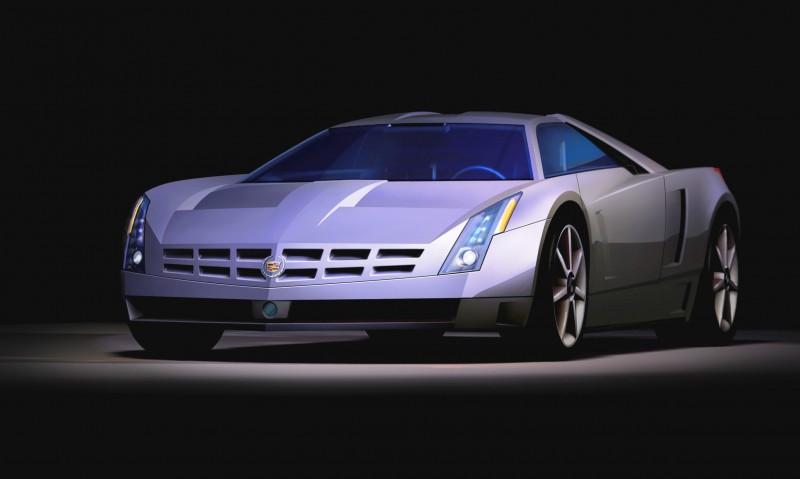 Concept Flashback - 2002 Cadillac Cien 11
