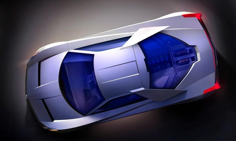 Concept Flashback - 2002 Cadillac Cien 12