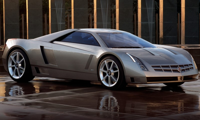 Concept Flashback - 2002 Cadillac Cien 17