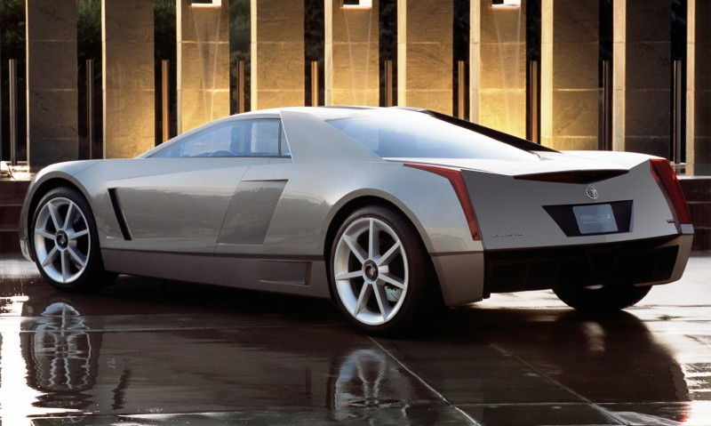 Concept Flashback - 2002 Cadillac Cien 18