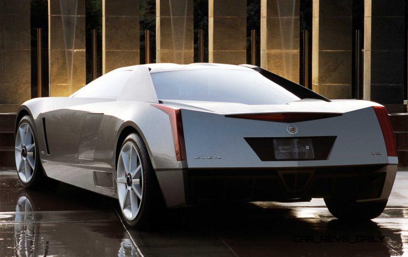 Concept Flashback - 2002 Cadillac Cien 19