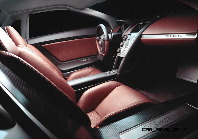 Concept Flashback - 2002 Cadillac Cien 22
