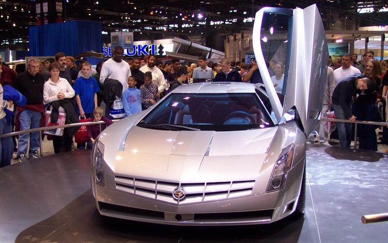 Concept Flashback - 2002 Cadillac Cien 35