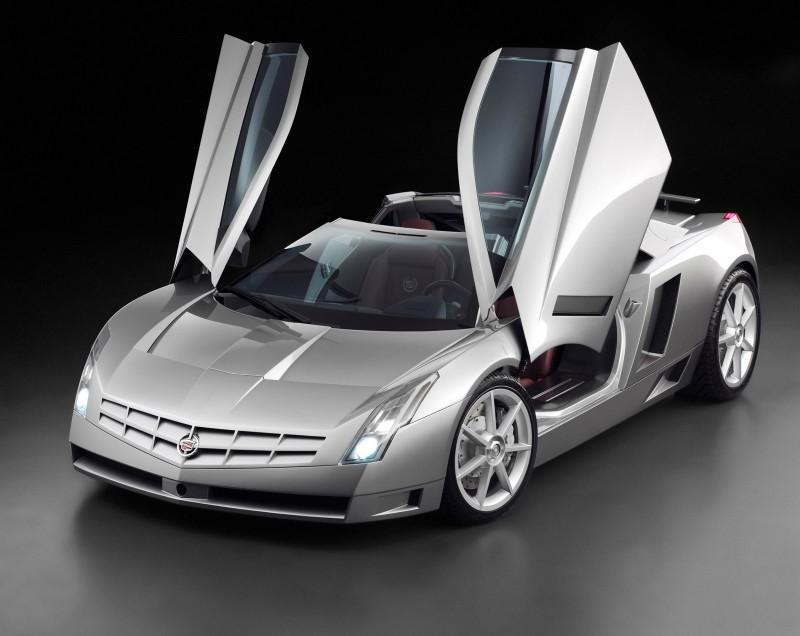 Concept Flashback - 2002 Cadillac Cien 7