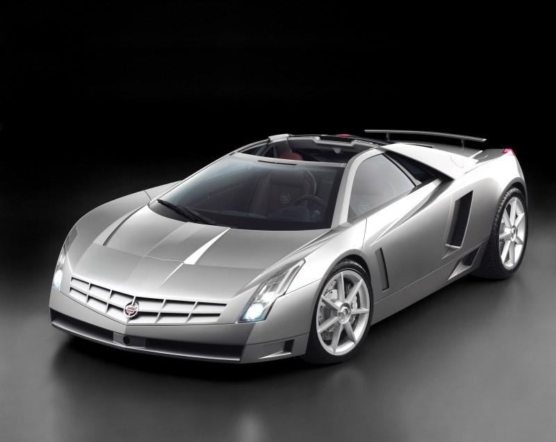 Concept Flashback - 2002 Cadillac Cien 9