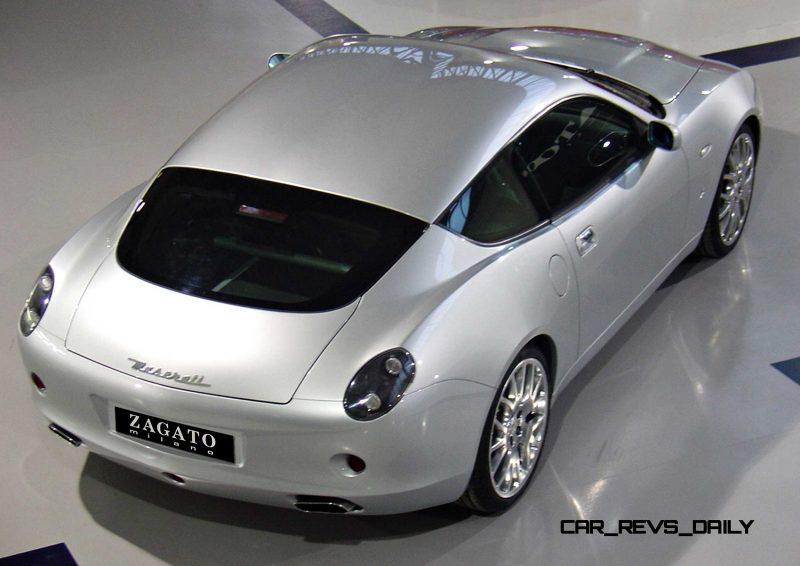 Concept Flashback - 2006 Maserati GSZ by ZAGATO 11