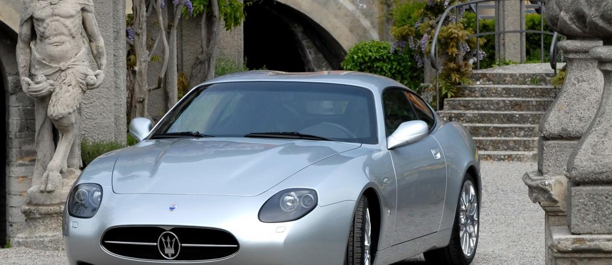 Concept Flashback - 2006 Maserati GSZ by ZAGATO 8