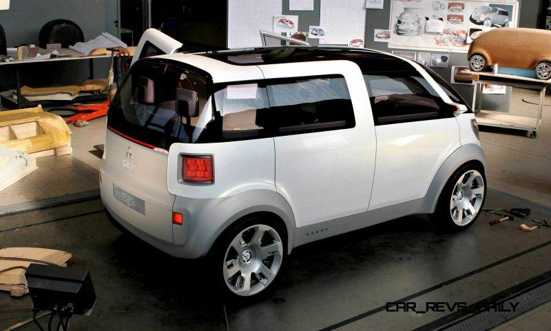 Concept Flashback - 2006 Mitsubishi EZ MiEV 1
