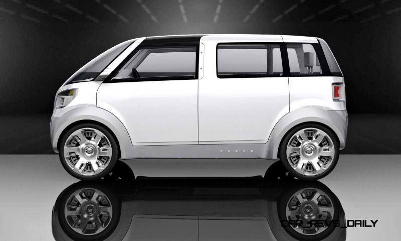 Concept Flashback - 2006 Mitsubishi EZ MiEV 11