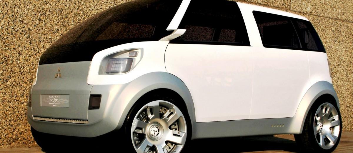 Concept Flashback - 2006 Mitsubishi EZ MiEV 12