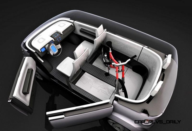 Concept Flashback - 2006 Mitsubishi EZ MiEV 13