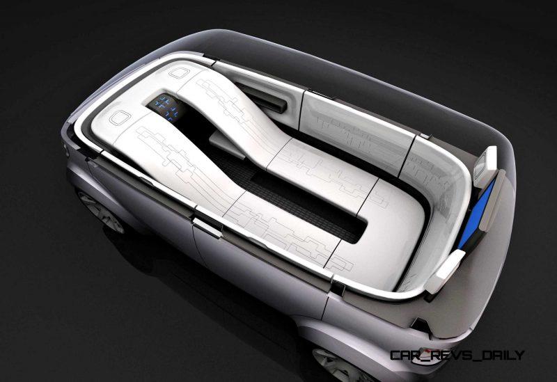 Concept Flashback - 2006 Mitsubishi EZ MiEV 14