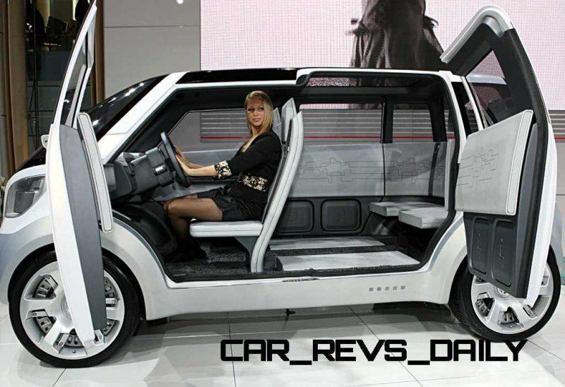 Concept Flashback - 2006 Mitsubishi EZ MiEV 17