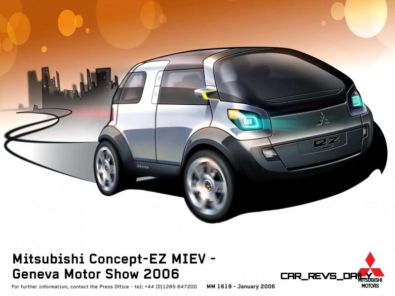 Concept Flashback - 2006 Mitsubishi EZ MiEV 18