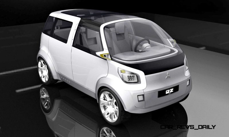 Concept Flashback - 2006 Mitsubishi EZ MiEV 2