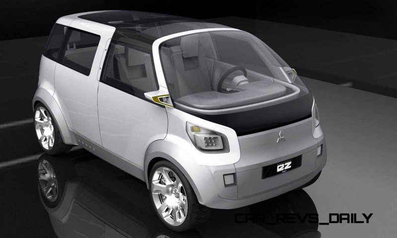 Concept Flashback - 2006 Mitsubishi EZ MiEV 23
