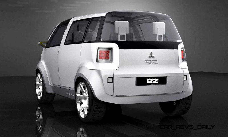 Concept Flashback - 2006 Mitsubishi EZ MiEV 4