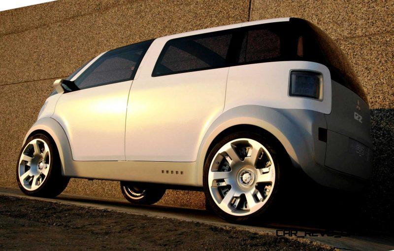Concept Flashback - 2006 Mitsubishi EZ MiEV 5