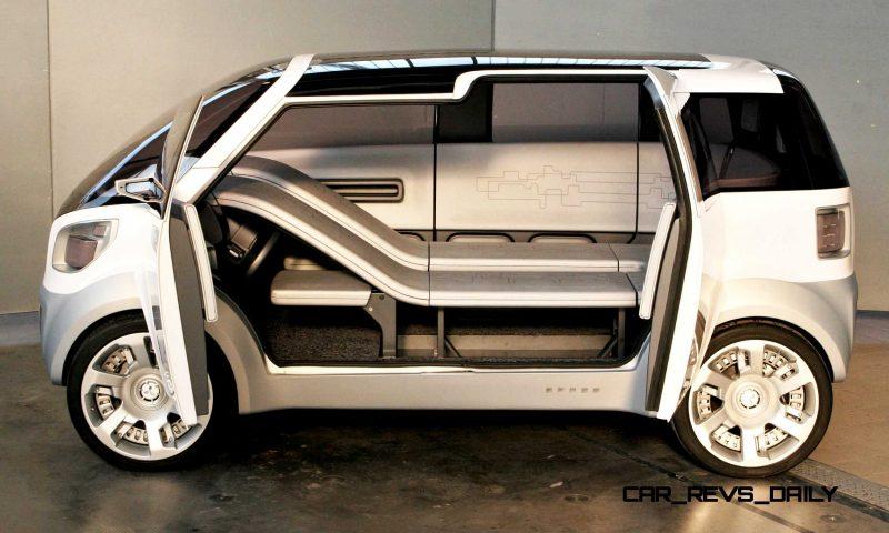 Concept Flashback - 2006 Mitsubishi EZ MiEV 8