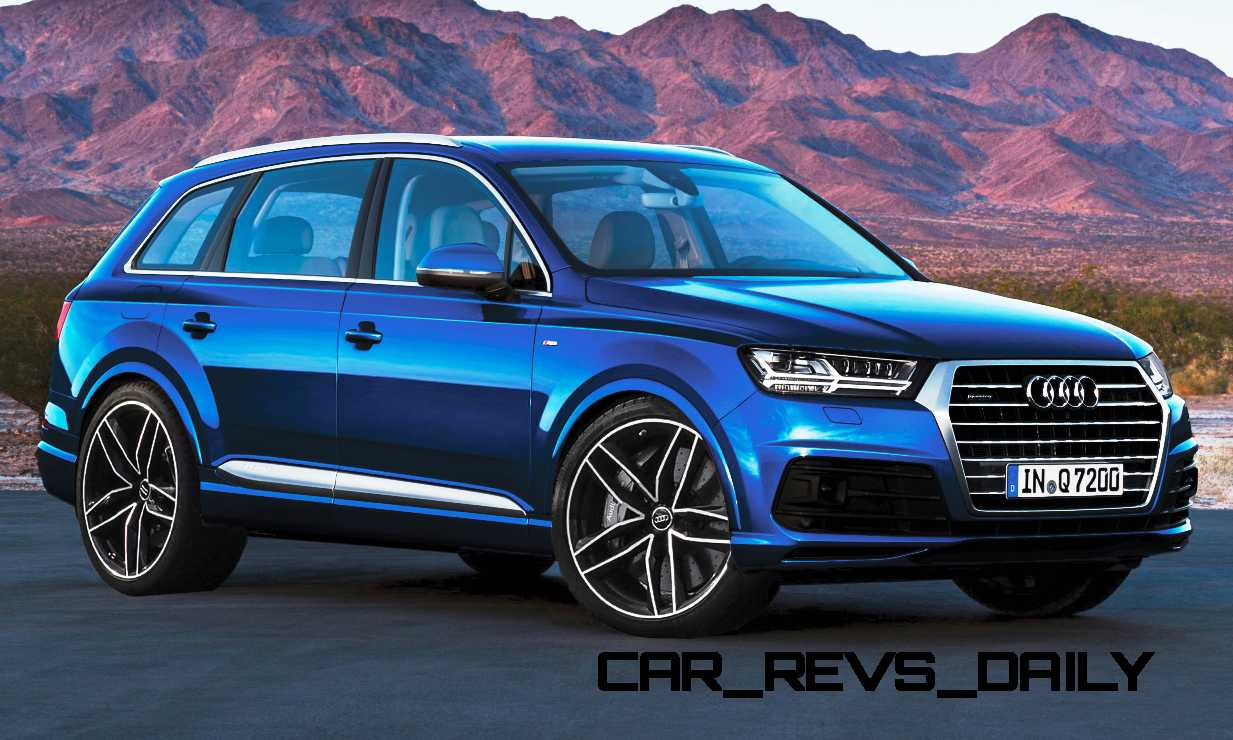 future suv renderings 2016 audi rs q7 14 car revs. Black Bedroom Furniture Sets. Home Design Ideas