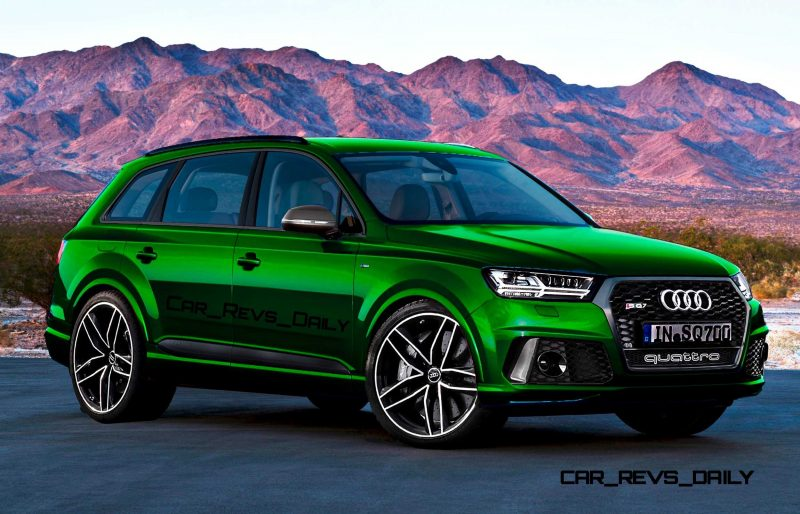Future SUV Renderings - 2016 Audi RS Q7  6