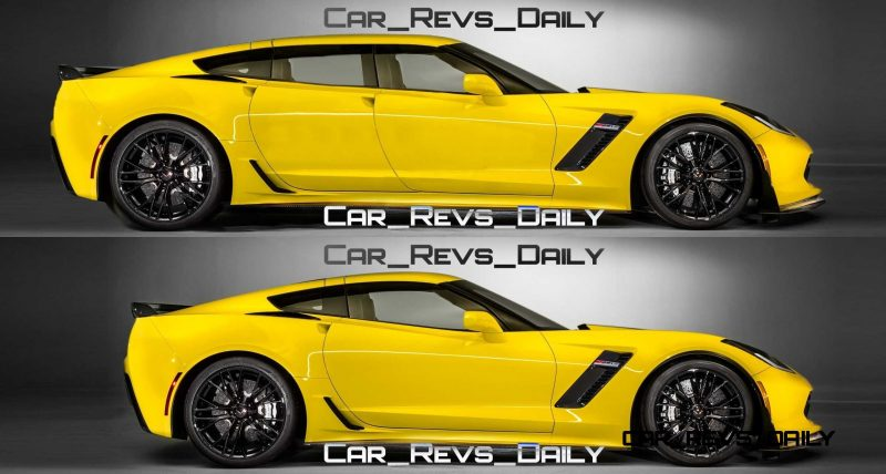 Future Supercar Renderings - 2017 Chevrolet Corvette Z06 Sedan 2-vert