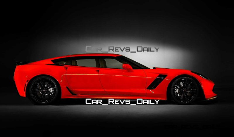 Future Supercar Renderings - 2017 Chevrolet Corvette Z06 Sedan 4