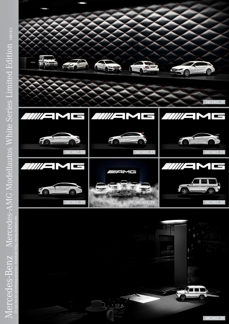 Mercedes-AMG Modellautos White Series Limited Edition
