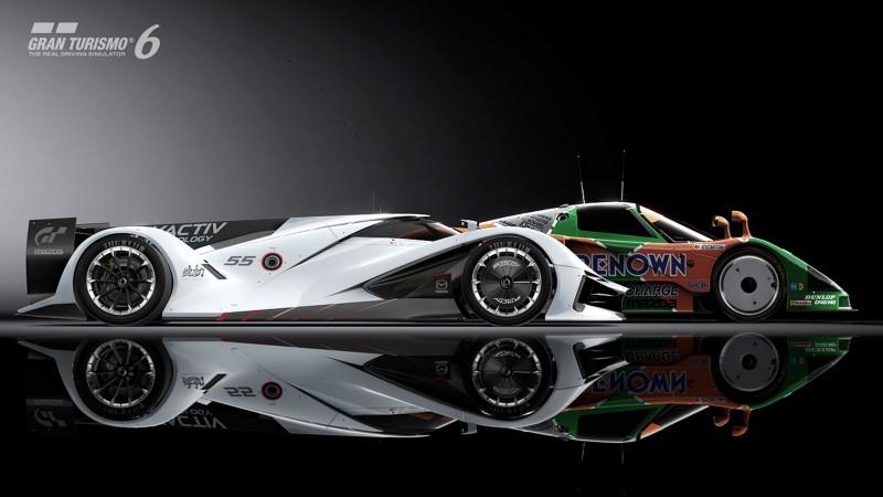 Mazda LM55 Vision Gran Turismo 14