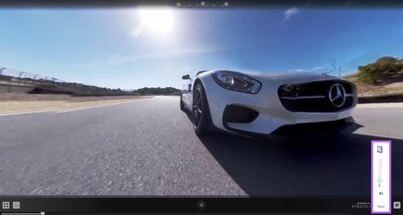 Mercedes-AMG GT Stars in Two Trippy Virtual-Reality Track Videos 11