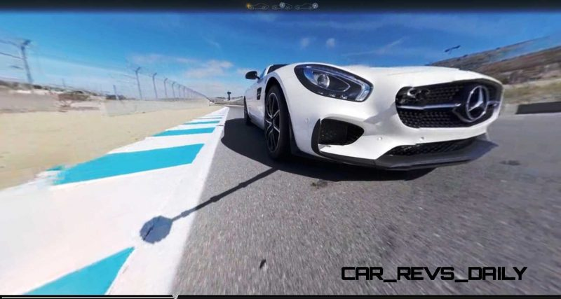 Mercedes-AMG GT Stars in Two Trippy Virtual-Reality Track Videos 14