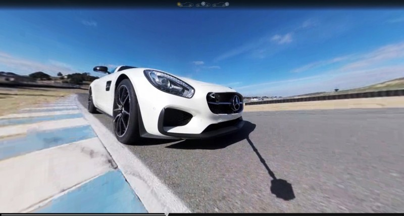 Mercedes-AMG GT Stars in Two Trippy Virtual-Reality Track Videos 15