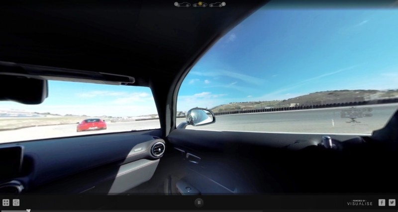 Mercedes-AMG GT Stars in Two Trippy Virtual-Reality Track Videos 17