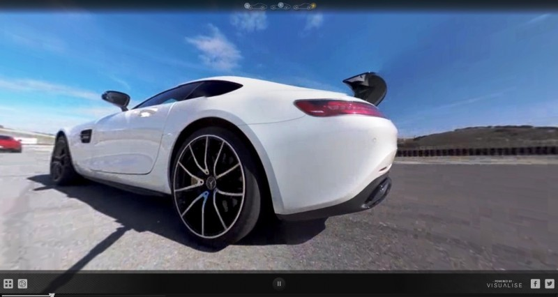 Mercedes-AMG GT Stars in Two Trippy Virtual-Reality Track Videos 18