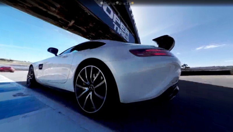Mercedes-AMG GT Stars in Two Trippy Virtual-Reality Track Videos 19
