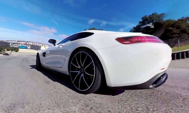 Mercedes-AMG GT Stars in Two Trippy Virtual-Reality Track Videos 2