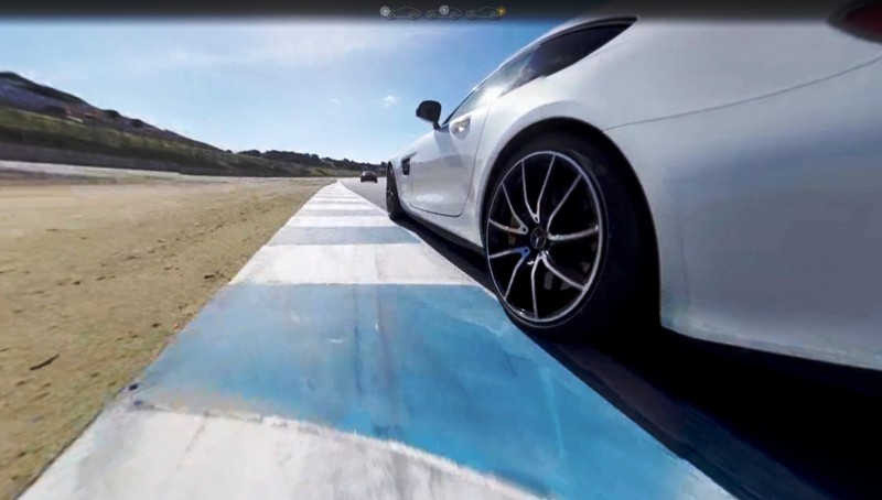 Mercedes-AMG GT Stars in Two Trippy Virtual-Reality Track Videos 20