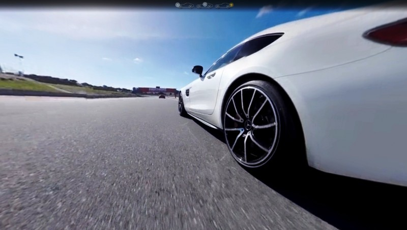Mercedes-AMG GT Stars in Two Trippy Virtual-Reality Track Videos 21