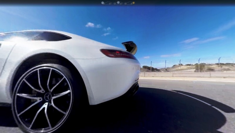 Mercedes-AMG GT Stars in Two Trippy Virtual-Reality Track Videos 22