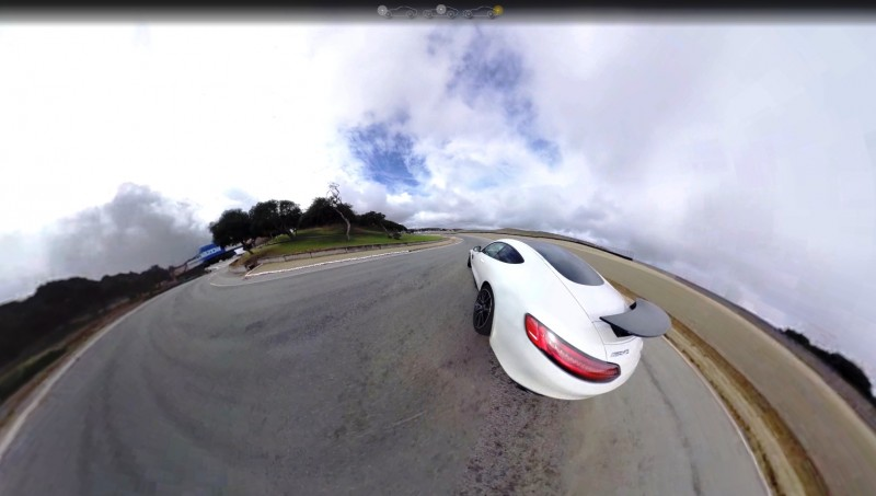 Mercedes-AMG GT Stars in Two Trippy Virtual-Reality Track Videos 23