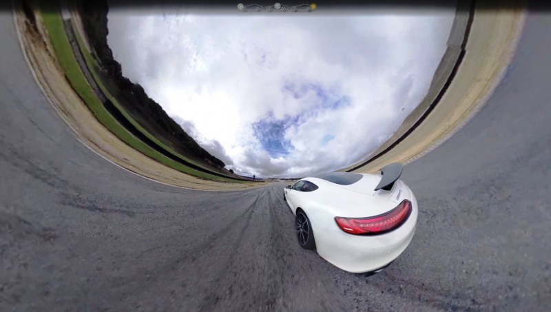 Mercedes-AMG GT Stars in Two Trippy Virtual-Reality Track Videos 24