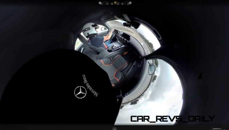 Mercedes-AMG GT Stars in Two Trippy Virtual-Reality Track Videos 27